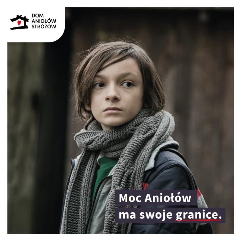 Moc Aniolow ma swoje granice. Przekaz darowizne na Dom Aniolow Strozow!