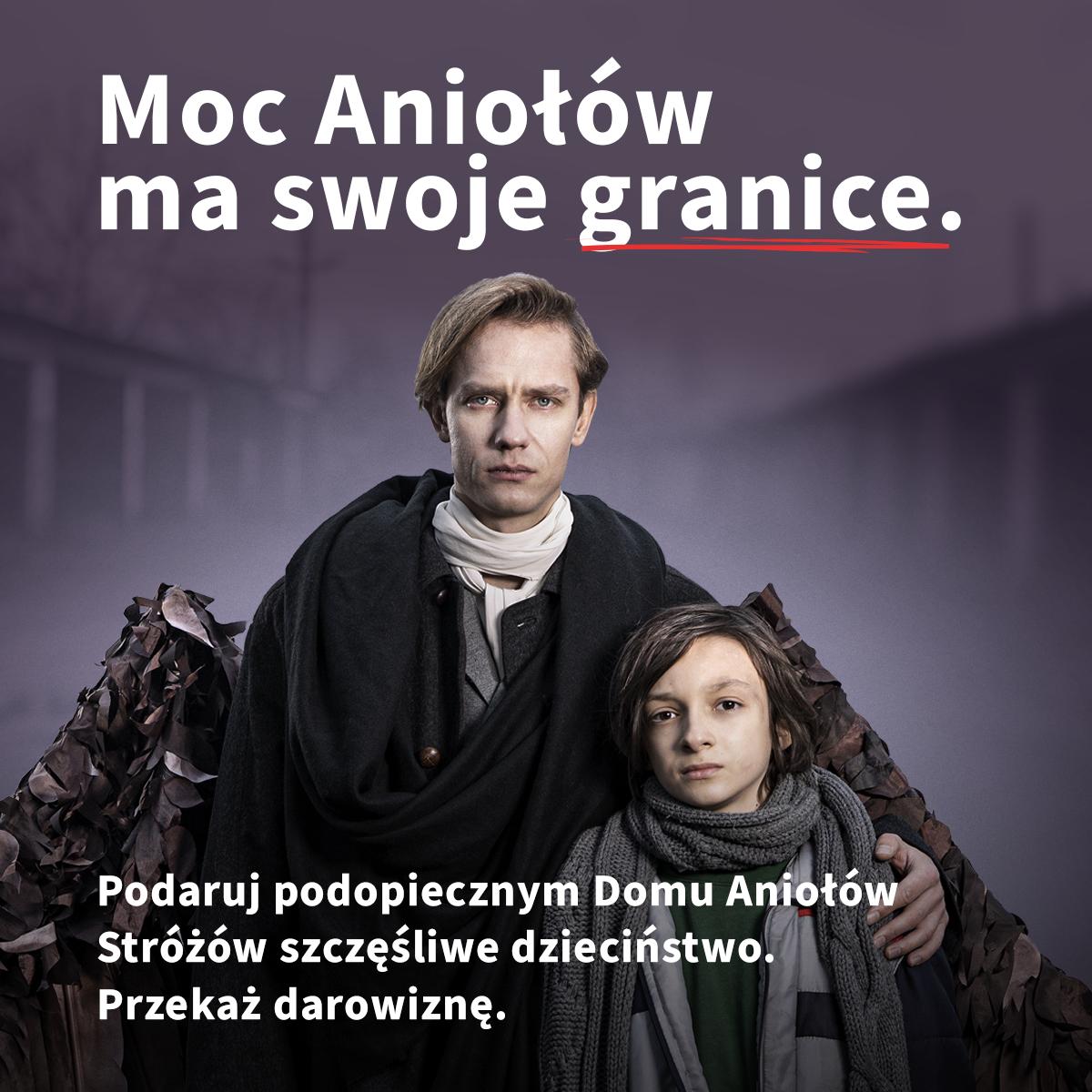 Moc Aniolow ma swoje granice Przekaz darowizne na Dom Aniolow Strozow