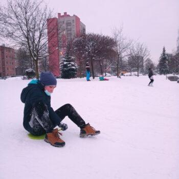 Zimowe zabawy Lepsze Jutro