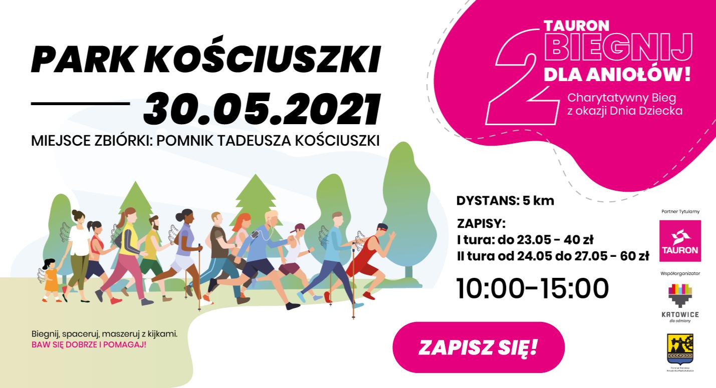 Biegnij dla Aniolow zapisz sie 30 maja 2021