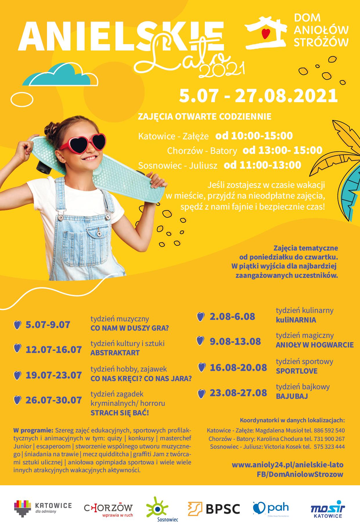 Anielskie Lato 2021_plakat główny