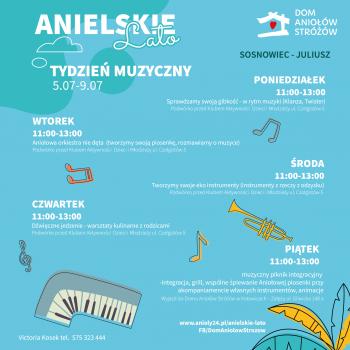Anielskie Lato 2021 Tydzien Muzyczny Sosnowiec Juliusz
