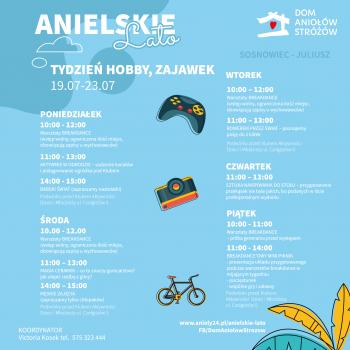 Anielskie Lato tydzien hobby, zajawek Sosnowiec-Juliusz