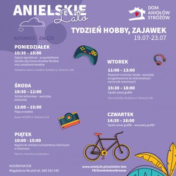 Anielskie Lato tydzien hobby, zajawek Katowice-Zaleze