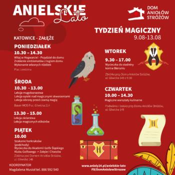 Anielskie Lato tydzien magiczny - Katowice Zaleze