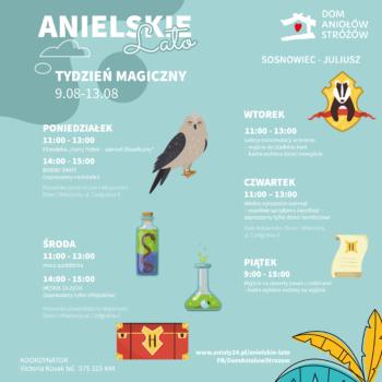 Anielskie Lato tydzien magiczny - Sosnowiec Juliusz